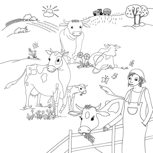 Getreidesorten Ausmalbilder